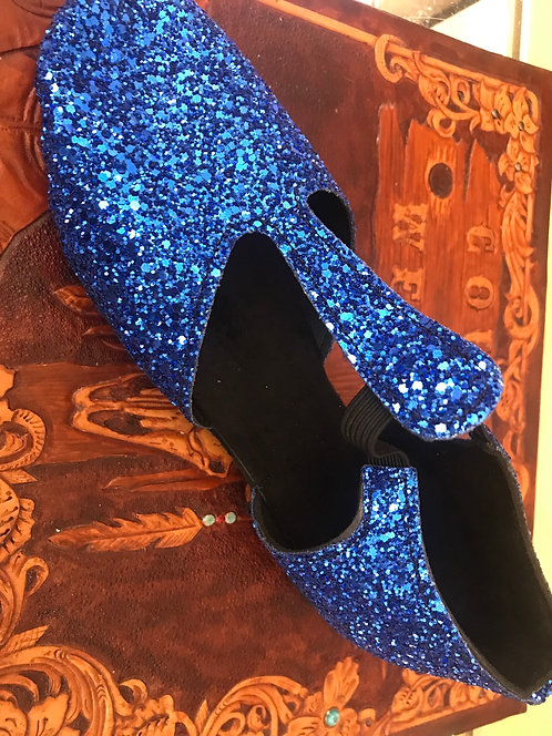 Greek Dance Shoes Blue