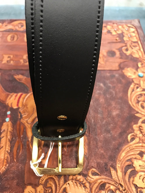 4XL Leather Belt with fixed Buckle
