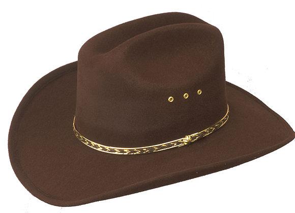 Cattleman Faux Felt Cowboy Hat    (HS10)
