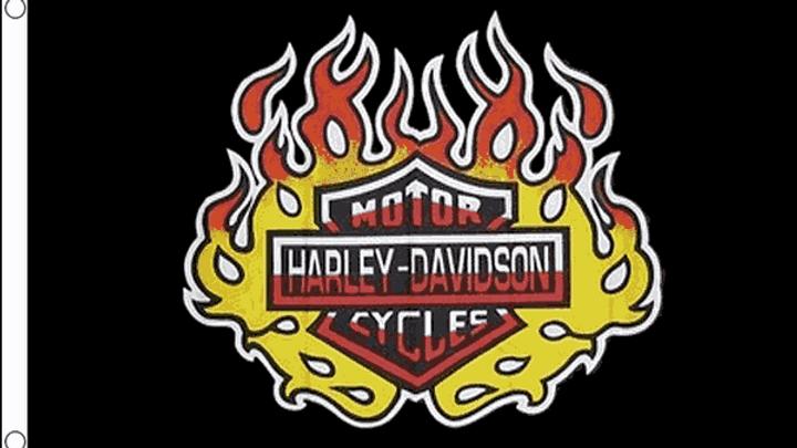 Harley Davidson Flag