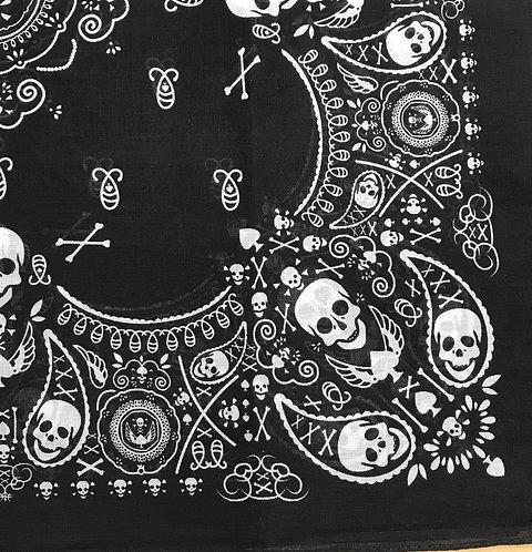 Black Skull 💀 Bandana