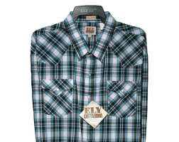 Ely Cattleman plaid Western Shirt