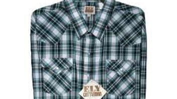 Ely Cattleman plaid Western Shirt