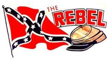 The Rebel Flag 5' x 3'