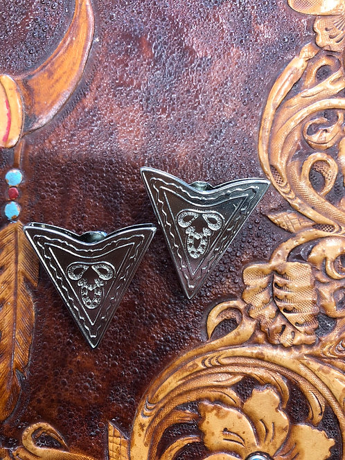 Metal Silver colour collar Tips