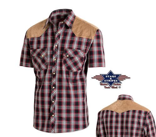 Western Short Sleeve Shirt by Stars & Stripes ~ Francisco