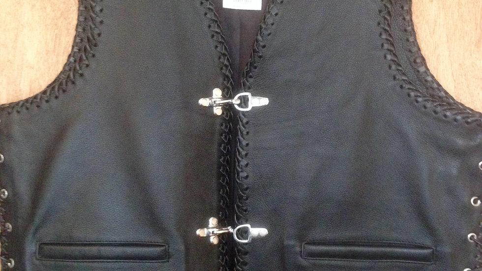 Heavy Weight Leather Waistcoat SKB01