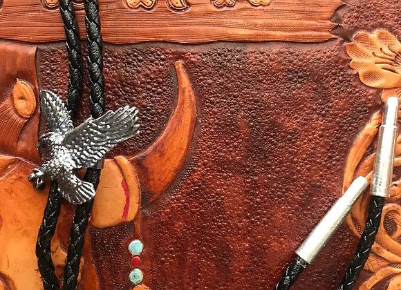 Eagle Bolo Tie