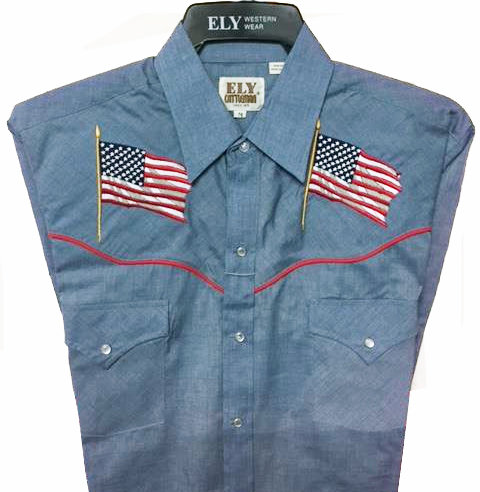 Ely Western short sleeved shirt  USA2