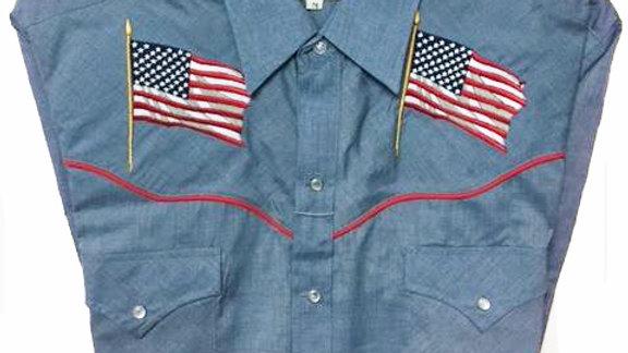 Ely Western short sleeved shirt  USA2