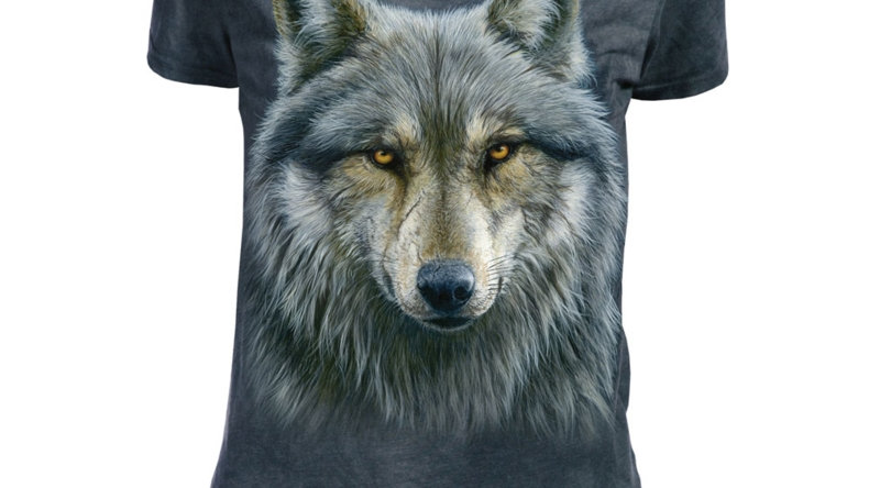 Ladies Warrior Wolf T-Shirt by The Mountain