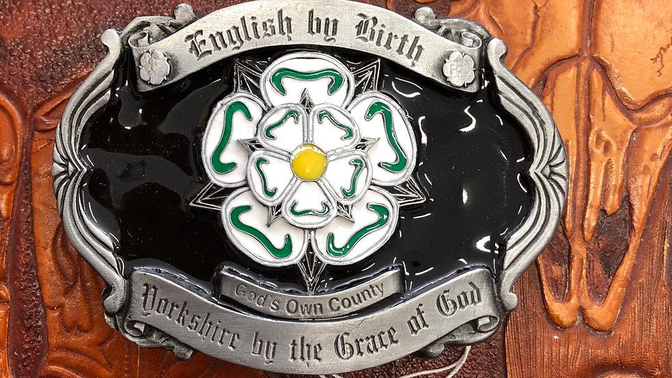 Yorkshire Belt Buckle