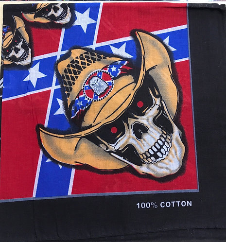 Cowboy 🤠 Skull 💀 Bandana