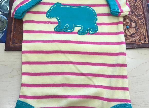 Lazy One Bear Stripe  - 12 month