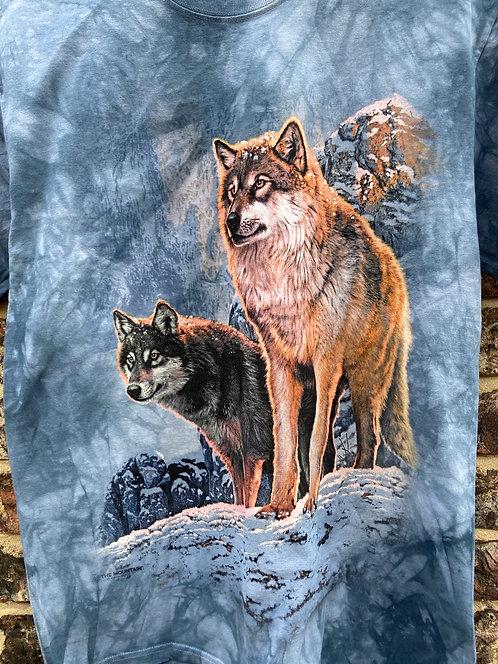 Wolf Sunset (Mountain T-shirt)