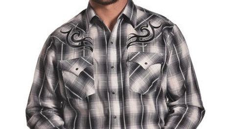 Ely Long Sleeve Tribal Western CowboyShirt