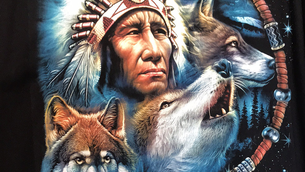 Chief and Wolves by WILD    W04