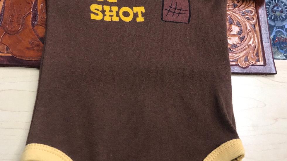 Lazy One Big Shot baby vest