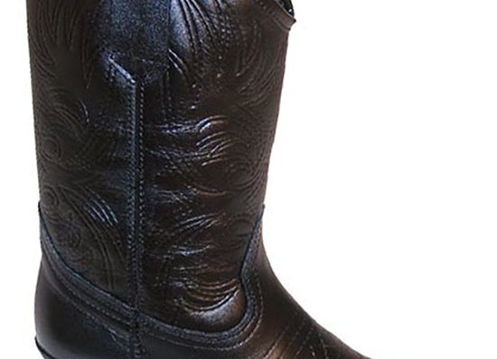 Childs/Sml Leather Cowboy Boots