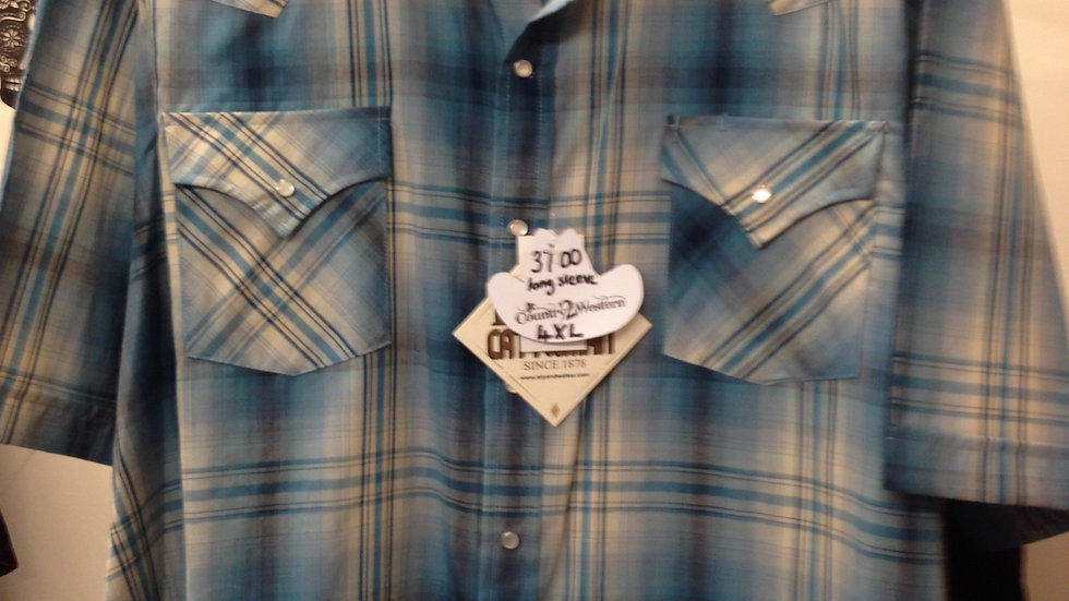 Ely Catleman Checked Shirt CMC001