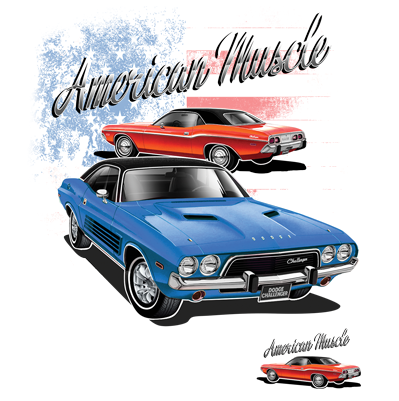 American Muscle - White (USA19)