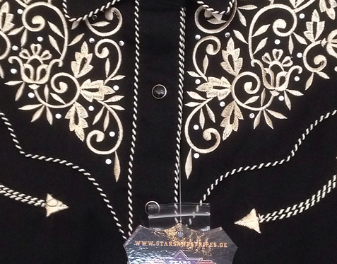 Ladies embroidered Western  shirt by Stars & Stripes Holly