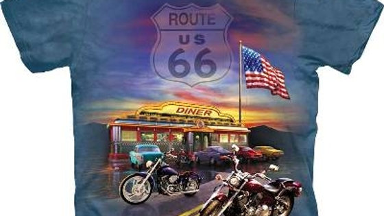 'The Mountain' Route 66 T Shirt