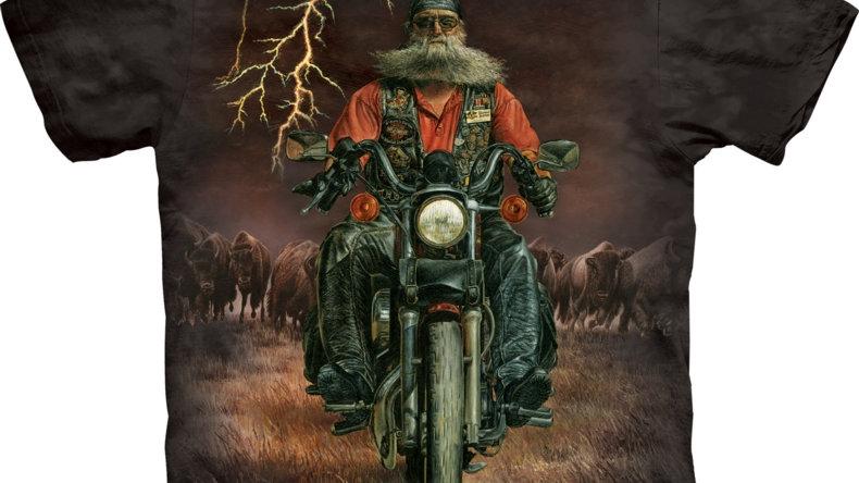 Buffalo Thunder T-Shirt by The Mountain