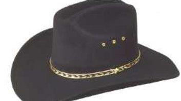 Cattleman Faux Felt Cowboy Hat  (HS09)