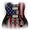 Thumbnail: Flag Guitar White       USA01
