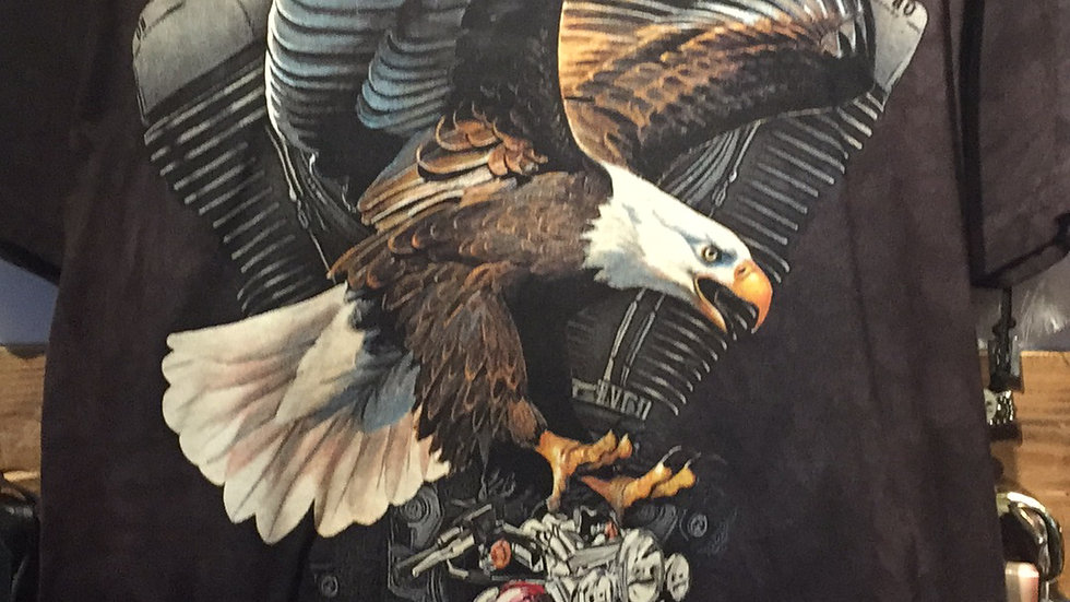 The Mountain Eagle and Bike T-Shirt by The Mountain