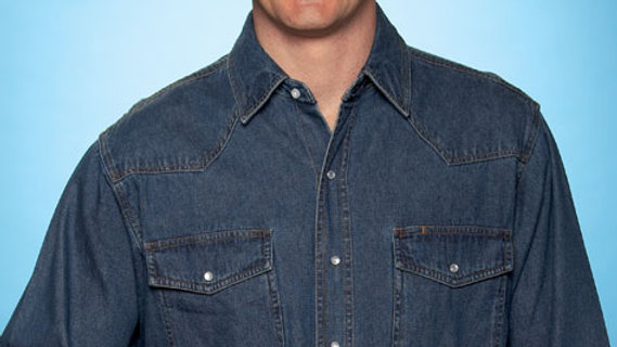 Ely Denim Cowboy Shirt