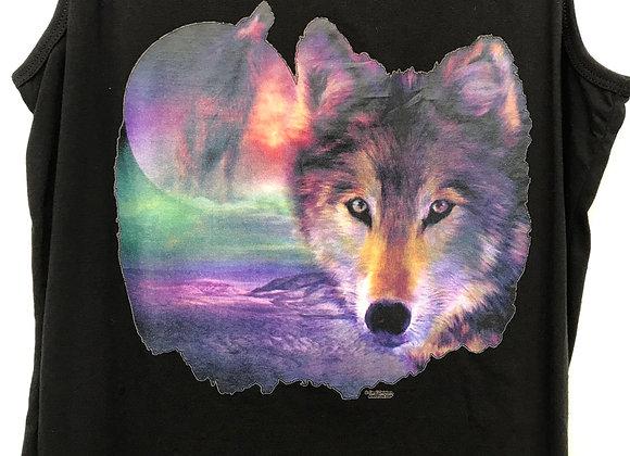I am Wolf   US Art Brand design vest top   USA04