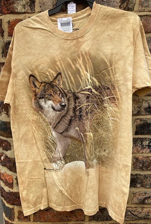 Winter Wolf (Mountain t-shirt)