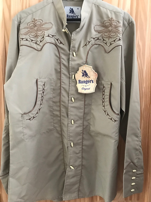 Rangers western Shirt with Toggles