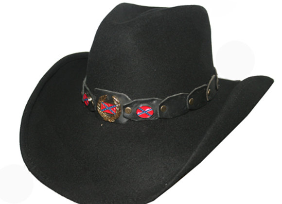 True Rebel Cowboy Hat by Bullhide Hats