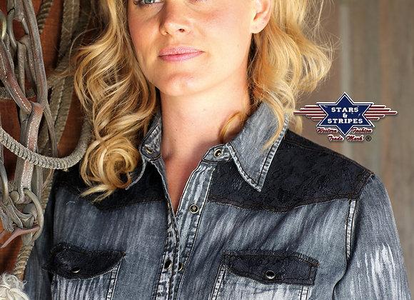 Ladies Western Shirt  by Stars & Stripes  ~ Kyra