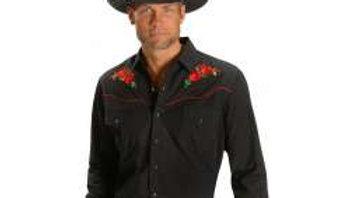 Classic Ely Western Retro Shirt   E14