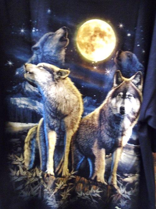 Wolf T Shirt HWC01