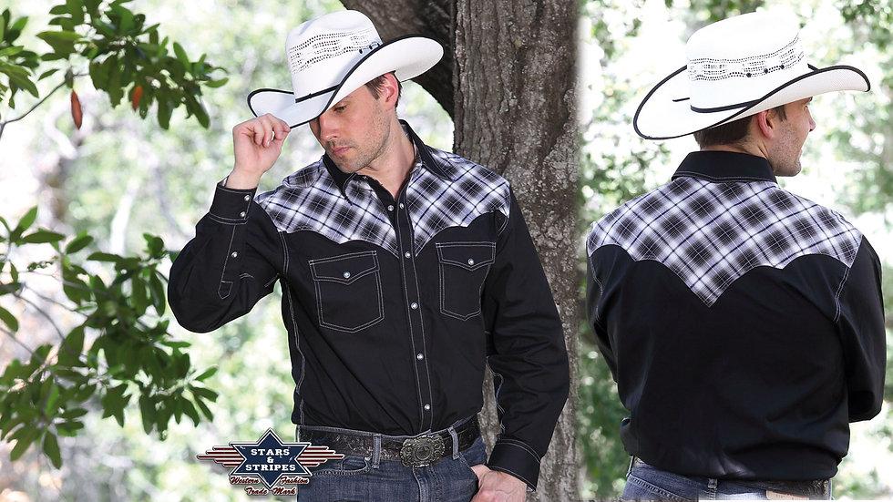 Western Cowboy Shirt by Stars & Stripes ~  Maddox