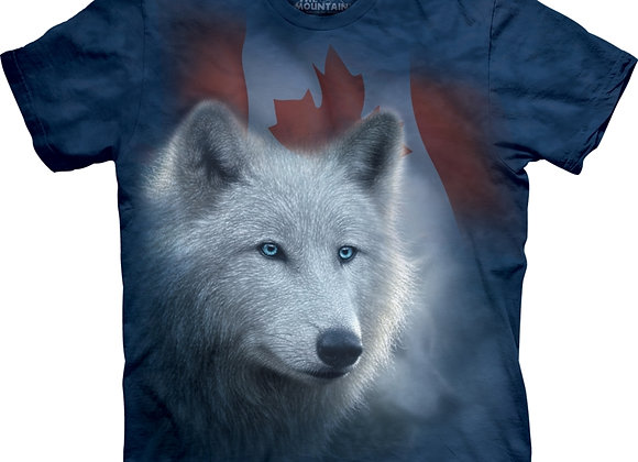Canadain White Wolf by The Mountain M04