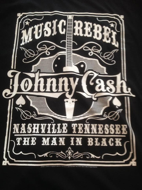 Johnny Cash Music Rebel Tshirt