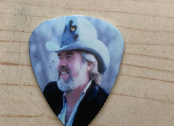 Kenny Rogers Metal guitar pick