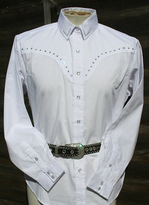 Ladies Rhinestone Cowgirl Shirt  WR02