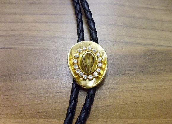 Diamante Cowboy hat Bolo Tie  STH13