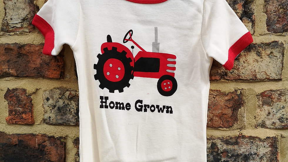 Home Grown Lazy One Baby Grow