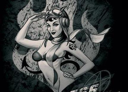 666 squadron (Metal Sign)