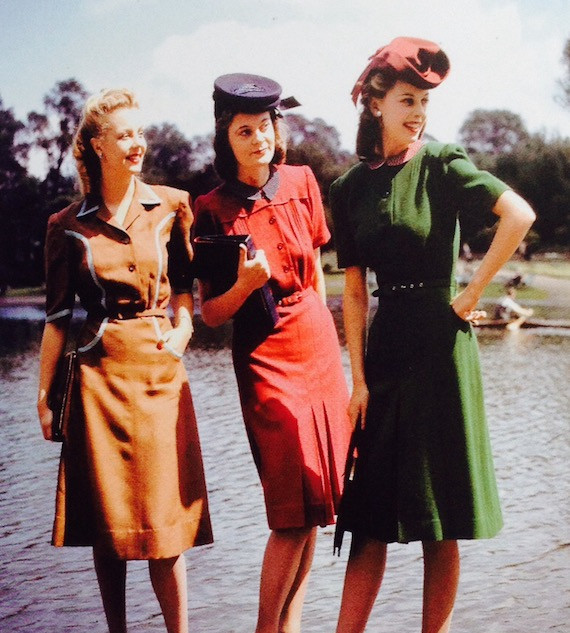 1940's dress is very much encouraged!