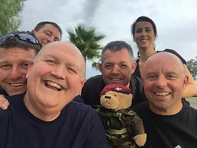 The Veterans Charity and the Red Devils