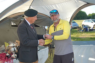 Veteran Andy Shenton wins The Mark Hale Trophy on The Forces March in aid of The Veterans Charity